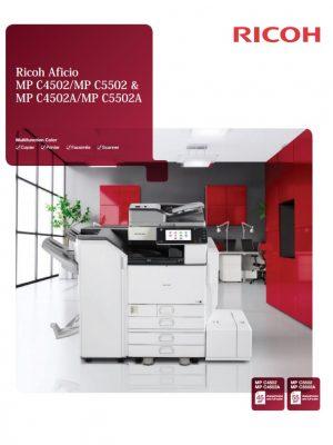 Brochure_RICOH AFICIO MPC 4502