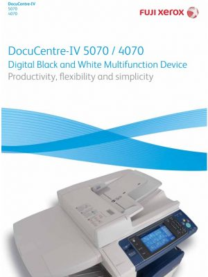 Brochure_XEROX DOCUCENTRE IV 4070