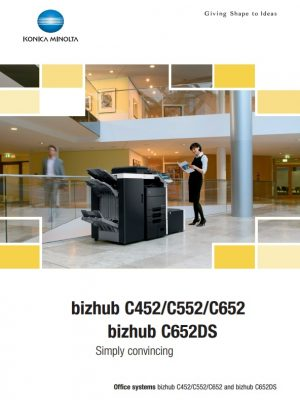 Konica Minolta Bizhub C452 - Number 1 Office Machines