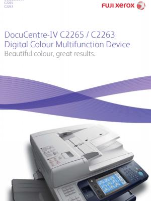 XeroxDocuCentre IV C2263