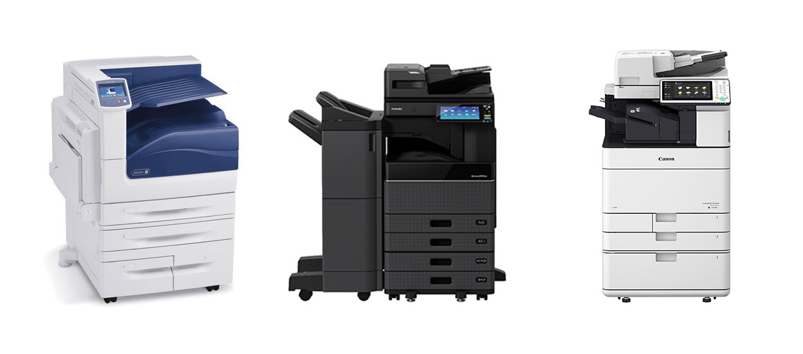costs of copiers